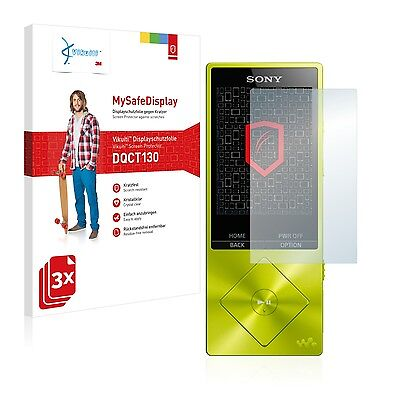 3x Vikuiti Screen Protector DQCT130 from 3M for Sony NW-A25HN NW-A20 Series