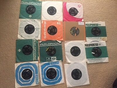 The Beatles - Job Lot Of 14 Singles - Help - Can't Buy Me Love - Twist And Shout