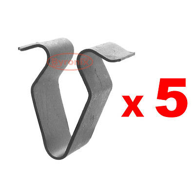 Vw Golf Jetta Passat Touareg Trim Panel Lining Covers Metal Spring Clips Clip