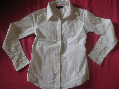 chemise blanche manches longues fille marque TOMMY HILFIGER Taille 12 ans