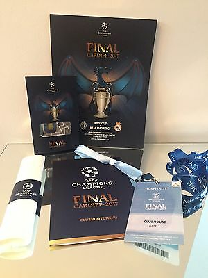 Corporate Hospitality : Juventus - Real Madrid 03/06/17 Uefa Champions League