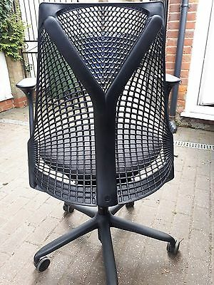 Herman Miller Sayl Black Office Chair