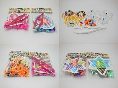 12Sets Small Size Pearler Beads Hama Beads Various Design