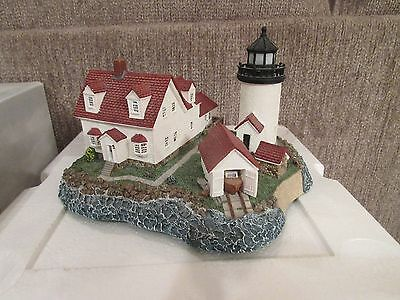 Harbour Lights Goat Island Maine #222 Dated 1998 Number 3662 of 10,000