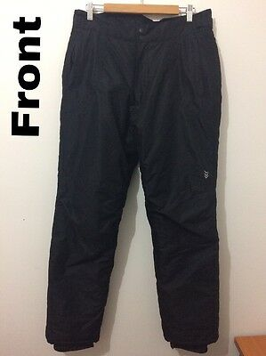 Chute Snow Pants - Men's Size 14 / Black