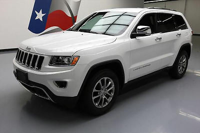 2016 Jeep Grand Cherokee  2016 JEEP GRAND CHEROKEE LTD HTD LEATHER REAR CAM 23K #399961 Texas Direct Auto