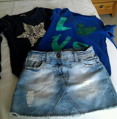 Girls bundle of next tops age 8 ( 6 items)