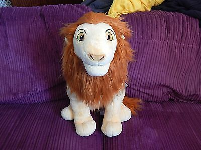 Disney Store Official Large Adult Simba Soft Toy Plush The Lion King BNWT