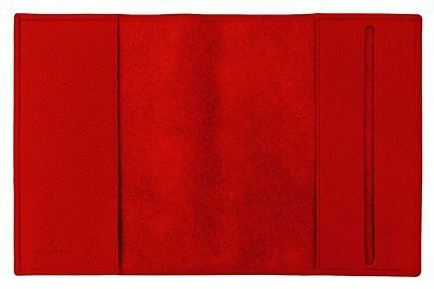 Carpe Diem A5 Cover a libro Derby Fashion Pelle rosso brillante