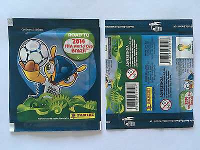 Pochette Panini Road To World Cup 2014 Brazil Stickers Packet Bustina