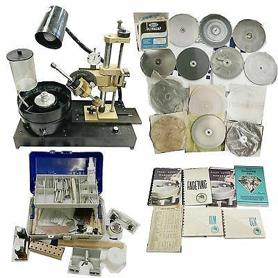 IRV'S PRIDE LAPIDARY #1 lapidary FACETING MACHINE WITH EXTRAS PLEASE CHECK IMGES