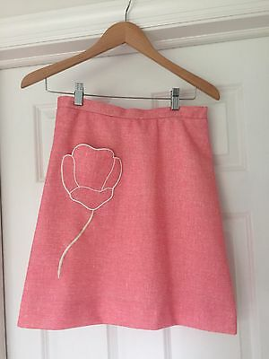 Vintage Skirt By Di Fini Pink Golf Small/ XS