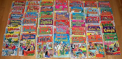 Archie Comic Lot (41) Betty Veronica Jughead Everythings Life Riverdale Madhouse