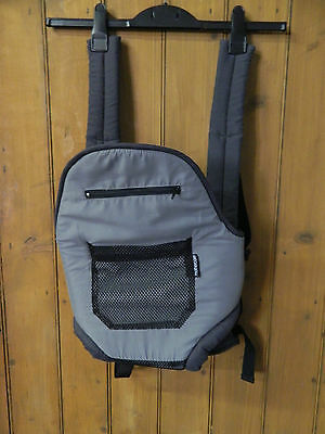 Mothercare Grey/black Baby Carrier