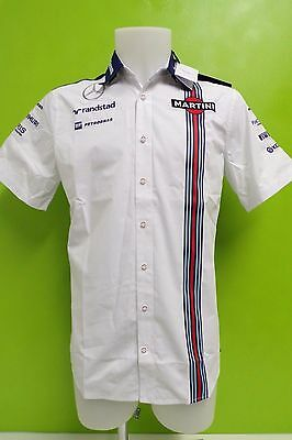 WILLIAMS MARTINI RACING F1 TEAM SHIRT MENS XL HACKETT of LONDON