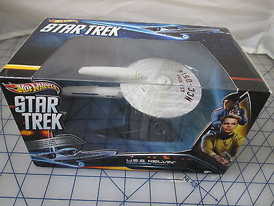 Hot Wheels Collector Star Trek USS Kelvin NCC 0514 Die Cast NEW free ship USA