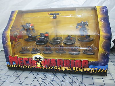 MechWarrior Wolf's Dragoons Gamma Regiment Action Pack WizKids NEW free ship