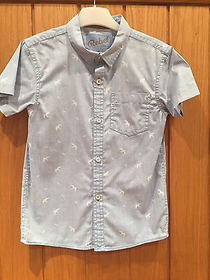 Primark Rebel Boys Shirt Age 6-7 Worn Once Immaculate Condition