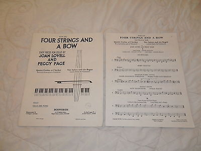 """""""Four Strings And A Bow""""-Book One-1955"""