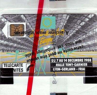 TELECARTE FRANCE Neuve sous Blister F41  Halle Tony Garnier 50u - SC4on