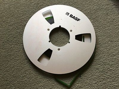 "A Single 10.5"" Metal NAB Audio Tape Spool For Reel To Reel Tape Recorder"
