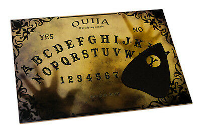 Wooden Ouija Board & Planchette and manual. Classic Spirit Ghost hunt game.