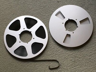 "2x 10.5"" Metal NAB Spools For Reel To Reel Tape Recorder"