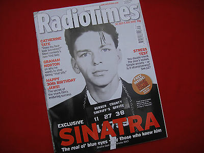 Radio Times ~ Jul/aug 2005 ~ Frank Sinatra The Real Ol Blue Eyes~Jaws 30Th