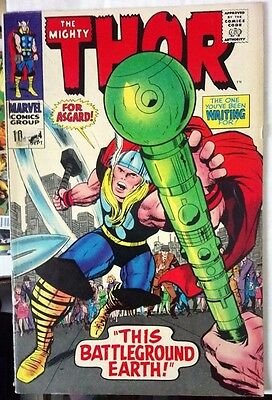 The Mighty Thor # 144, Silver Age Clearance Copy.