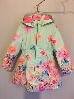 Girls Designer Ted Baker Floral Spring Summer Jacket 3-4yrs🌸