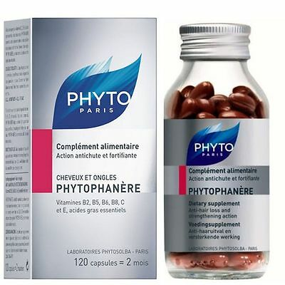 Phyto - PHYTOPHANERE hair & nails 120 caps - 2 month supply
