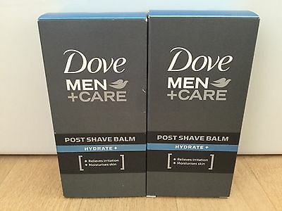 Dove Men Care Hydrate Post Shave Balm 2 x 100ml
