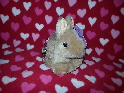 NEW Swibco Puffkins Plush Key Ring ARMOUR The Armadillo