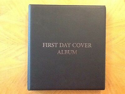 USA, First Day Cover Album And Collection. 1996-2001, 92 Covers