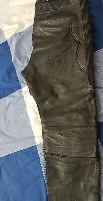 RAYVEN Motorcycle Leather Jeans Trousers Size 44