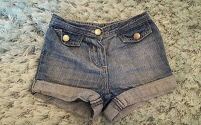 baby girls short denim from next age 6-9 months