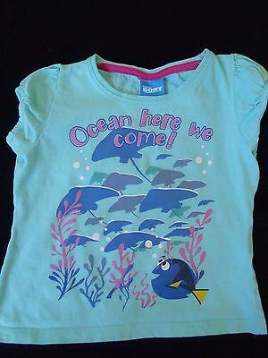 Girls 'Finding Dory' Short Sleeved T shirt Age 2 - 3 years
