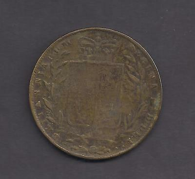Great Britain Victorian Forgery of a 1846 Half Crown Coin
