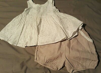 baby girls 18-24 month NEXT  summer outfit worn once