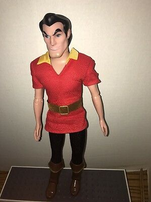 Disney Store Classic Gaston Doll Beauty And The Beast 12""