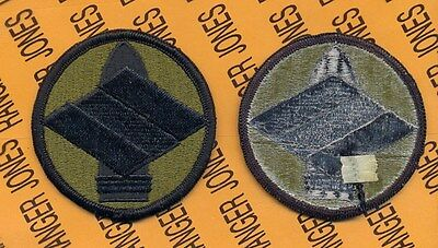 US Army 142nd FA Field Artillery FIRES Brigade OD Green & Black uniform patch