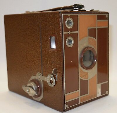 Vintage Eastman Kodak Beau Brownie Camera Working