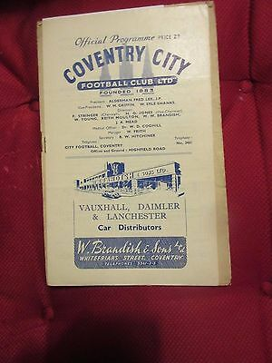 1947-48 Coventry v Bradford Park Avenue