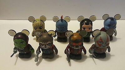Disney Marvel Vinylmation Guardians Of The Galaxy Volume 2 Set Of 8 Chaser