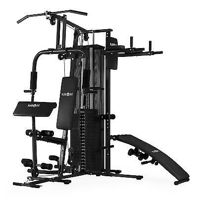 Machine Bodybuilding multistation with pulleys Gym Fitness Back Chest