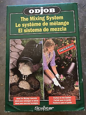 Scepter ODjOB Revolutionary Mixing System 7 Gallon Mixes Concrete Mortor Grout $