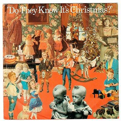 Original Band Aid 45 Record. 1984. Do They Know It's Christmas (A-Side)