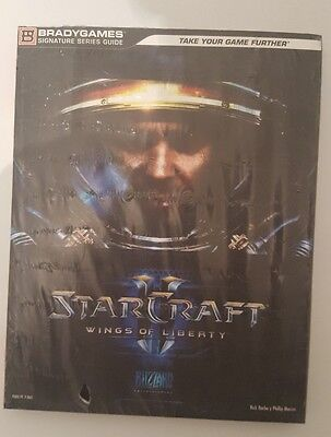 Guia oficila de Starcraft II wings of liberty en español nueva sellada