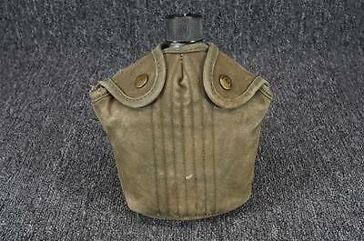 Vintage 1976 US Army 1-Quart Canteen Carrier Model M1956