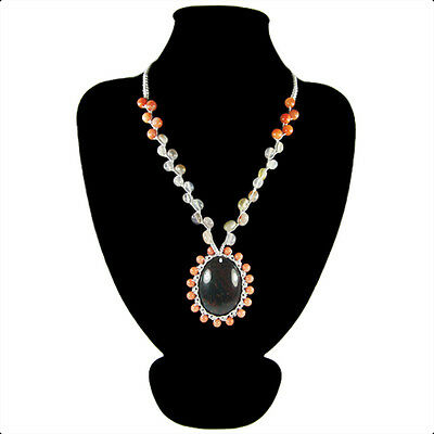 Fancy Agate Hand-crocheted Necklace CL700147